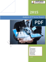 Analysis of IT Sector and Performance of Major Players