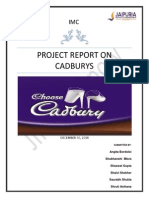 Cadbury- Project Reprot