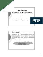 C2-C4 METABOLITI II Produse Odorante Si Aromatizante
