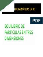 Clase Particulas en 3d - Estatica