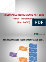 1. Introduction - Negotiable Instruments Act