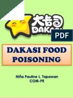 Dakasi Food Poisoning Presentation