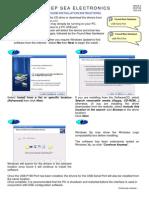 P810USB Instrucciones de aplicacion