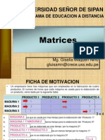 Matrices - Fundamentos