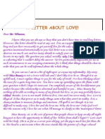 A Letter About Love