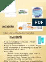 Mayaderm Sales Case