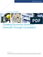 Creating Economic Growth in Denmark Through Competition