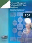 Pmp Cheat Sheet