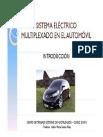 Sistema Electrico Multiplexado en El Automovil