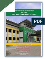 Panduan Praktikum Teknologi Beton