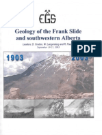 44- SW Alberta_ Geology of the Frank Slide_2003_EGS
