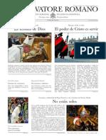 L´OSSERVATORE ROMANO - 02 Enero 2015