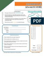 English Comprehension 11 Practice Paper
