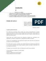 Modelos de Carta de Recomendacion