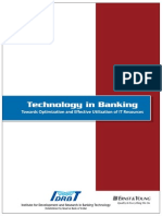 Technology in Banking and Foresight for BTA_2012