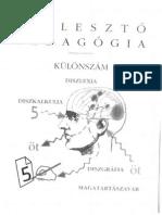 Fejleszto Pedagogia Kulonszam Diszlexia Diszkalkulia Diszgrafia PDF