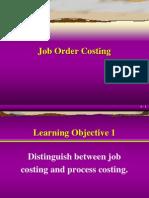 Chap06 Job Order Costing