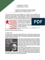 Le Marxisme Est Il Perime