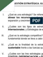 Unidad 4.- Selección de Estrategias.
