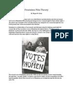 Feminism Film Theory Essay