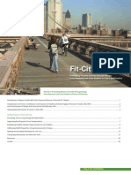 FIT CITY 3 - Promoting Physical Activity Through Design - AIA New York