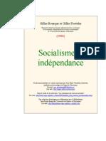 Socialisme Et Independance