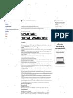 - Guía en Construcción_SPARTAN_Total Warrior