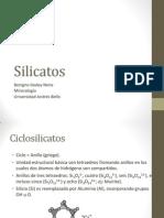 Silicatos - Ciclo- e Inosilicatos