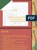 Geometalurgia Yacimientos