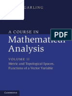 A Course in Mathematical Analysis (Volume 2)