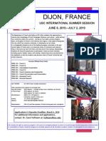 Dijon 2010 Flyer and Info
