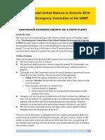 UNSW MUNiS 2014 - Briefing Paper
