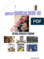 CARPETA PEDAGOGICA EDUCA. Historia, Geografia Economia