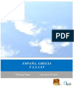 ESPAÑA GRECIA Y LA CAV