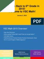 VSC Math 2015
