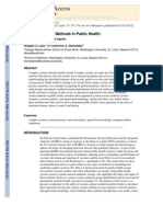 systems science in public health
