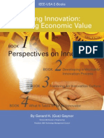 Doing Innovation Creating Economic Value Book1