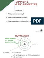 Chapter 02 Atomic Bonding
