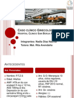 Caso Clínico Ginecología