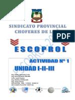 Guia de Actividades Computación Básica Unidad i, II y III