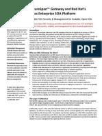 Layer 7's SecureSpan Gateway and Red Hat's JBoss Enterprise SOA Platform