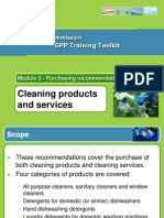 Cleaning Gpp Product Sheet