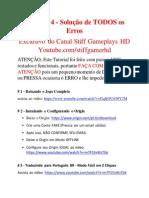 TS4 Solução de Erros v4 - StiffGamerHD - EXCLUSIVO