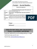 january 5 homework packet