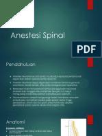 Anestesi Spinal - Presentasi