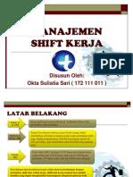 Ppt Shift Kerja - management shift kerja