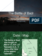 The Battle of Badr[1]