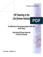 Cleaning in the Life Science Industry - TACCT BPE v2.0