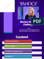 Marissa Mayers Case Study
