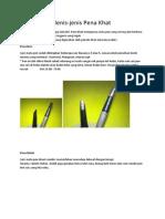 Jenis-jenis Pena Khat.pdf
